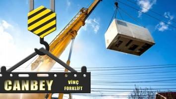 Canbey Vinç Firması Örnek Olacak Çalışmalar Sergiliyor